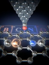 Individual Impurity Atoms Successfully Detected in Graphene