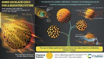 Use of Black (Nano) Gold Could Help Fight Climate Change