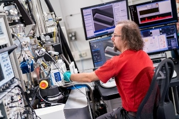 Helium-Ion Microscope Helps Manipulate Material Properties at the Nanoscale
