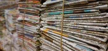 Research Experiments to Grow Carbon Nanotubes on Newspapers
