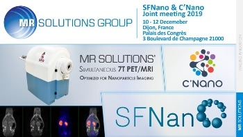 MR Solutions Participates in the First Nanomedicine Joint Annual Meeting in Dijon