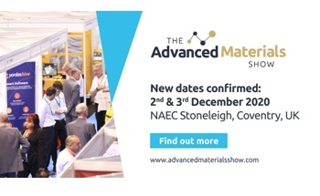 The Advanced MateriaShow and Ceramics UK will Now Take Place on 2nd & 3rd December 2020, Stoneleigh UK