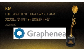 "Graphenea Awarded ""Best Graphene Firm"" Prize"