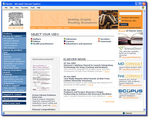 Elsevier-Publisher of Scientific Books & Journals