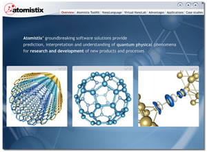 Atomistix -Software for Nanotechnology Development