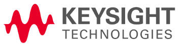 Keysight Technologies logo.