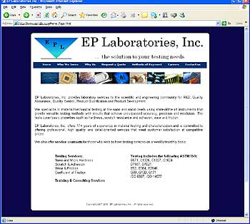 EP Laboratories - Mechanical Testing Specialists