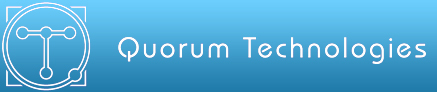 Quorum Technologies Ltd logo.