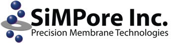 SiMPore Inc. logo.