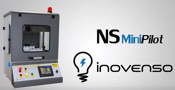 Inovenso's Electrospinning machine: NS Mini Pilot