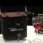Wine Glass Demo for Minus K's Anti Vibration Technology