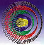 AZoNano - The A to Z of Nanotechnology : Graphic depicting a multi-wall carbon nanotube.