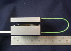 Probe and Target Sensor showing sensor gap (d)