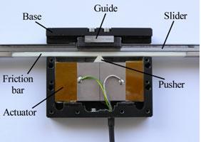Ultrasonic Piezoelectric Actuator For Nanopositioning The